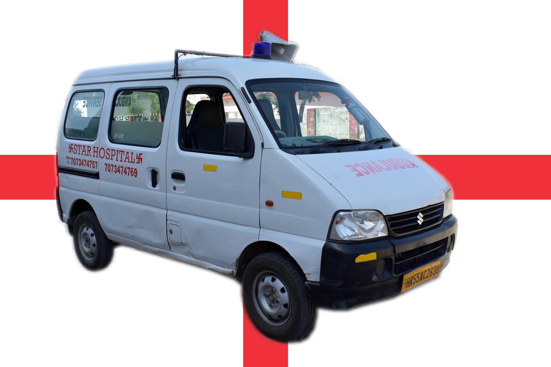 AMBULANCE Star Hospital Bhiwadi